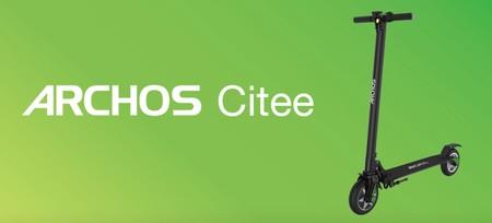 Archos Citee Connect: el primer scooter eléctrico con Android llega por 399 euros y actualizado a Oreo