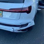 Audi pasa una factura de 38.000 dólares por reparar el parachoques de un Audi e-tron: 17.000 solo en mano de obra