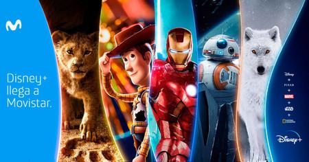 Disney+ llegará a Movistar: estas son las opciones y sus precios