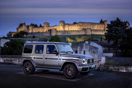 Mercedes-AMG G63 lateral frontal