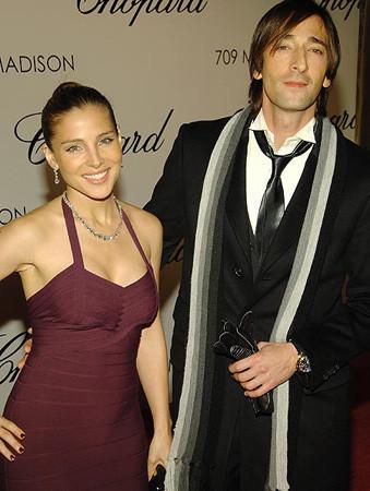 Adrien Brody y Elsa Pataky en la inauguración de una tienda de Chopard