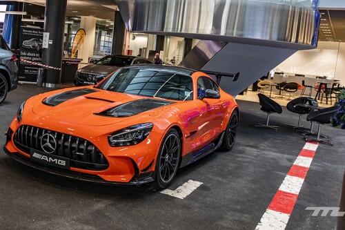 Primer contacto con el Mercedes-AMG GT Black Series: sí, se siente un coche de carreras que asusta incluso en parado