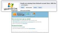 Hotmail cierra el año dejando sin emails a alguno sus usuarios