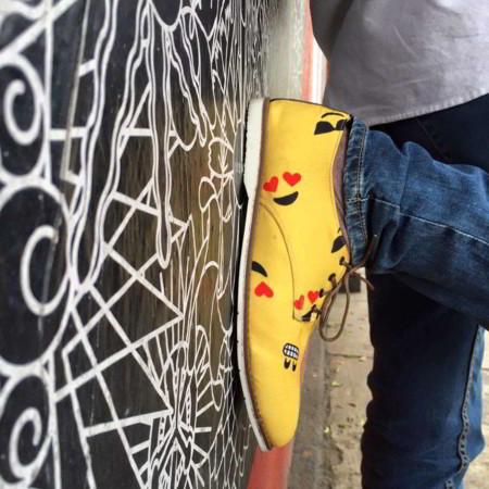 Kuika: Calzado colorido