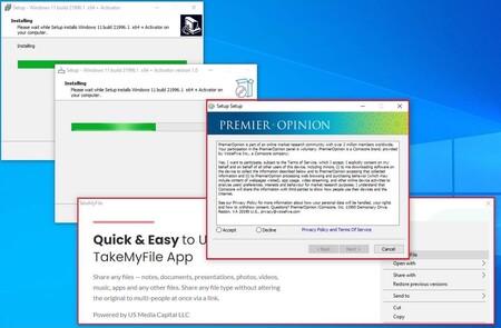 Proliferan los falsos instaladores de Windows 11 que llenarán de malware nuestro PC, advierte Kaspersky