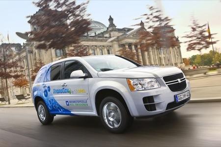 General Motors prueba el hidrógeno en Europa