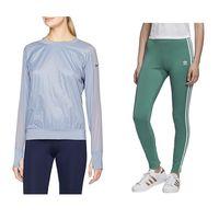 Chollos por menos de 20 euros en ropa deportiva para mujer: tallas sueltas de leggings, camisetas o sudaderas Reebok, Nike y Adidas