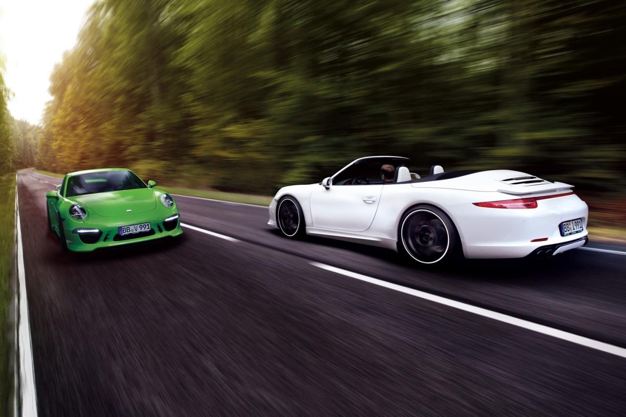 Foto de Porsche 911 Carrera 4S por TechArt (1/32)
