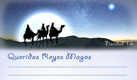 Carta para los Reyes Magos exclusiva de Bebés y más (Navidad'14)