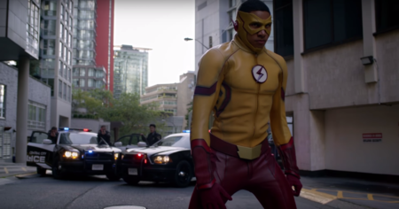 Kid Flash In The Flash Season 3
