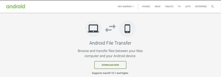 Android File Transfer Descarga