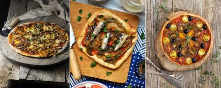 63 recetas de pizzas, quiches y otras tartas saladas para compartir con nuestros nueve mejores amigos