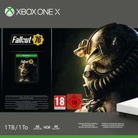 Consola Xbox One X de 1TB, con Fallout 76, rebajadísima en el outlet de MediaMarkt: en oferta por 279 euros