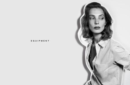 Equipment Daria Werbowy Verano 2105 camisa