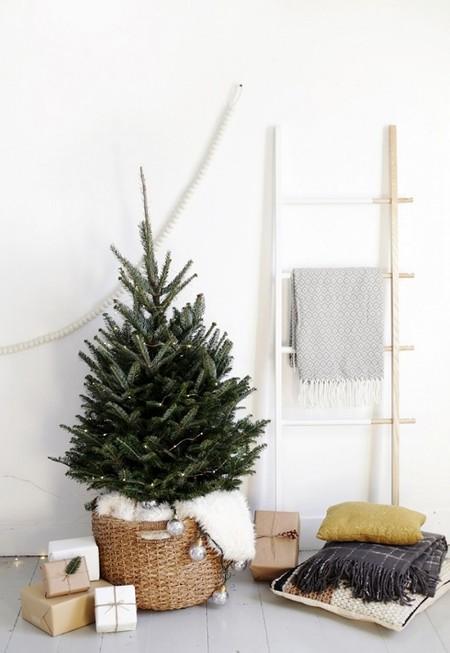 17 árboles de Navidad minimal y modernos para ir un paso más allá con la decoración navideña
