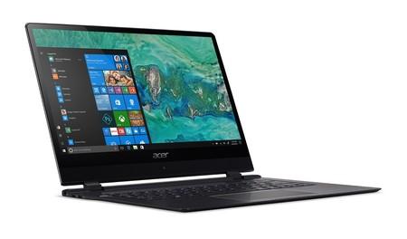 Acer quiere ganar la batalla de los ultraportátiles y presenta el Swift 7, el portátil más delgado del mundo