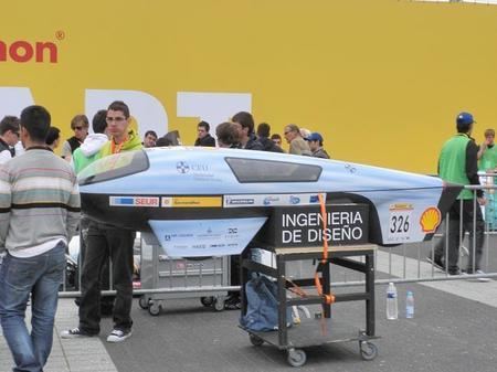 Prototipo a baterías de la Universidad CEU-Cardenal Herrera
