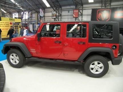 Jeep Wrangler Unlimited en el Salón de Vigo