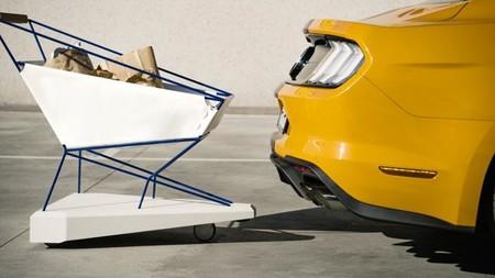 Ford integra su Asistente de Precolisión en un carrito de supermercado