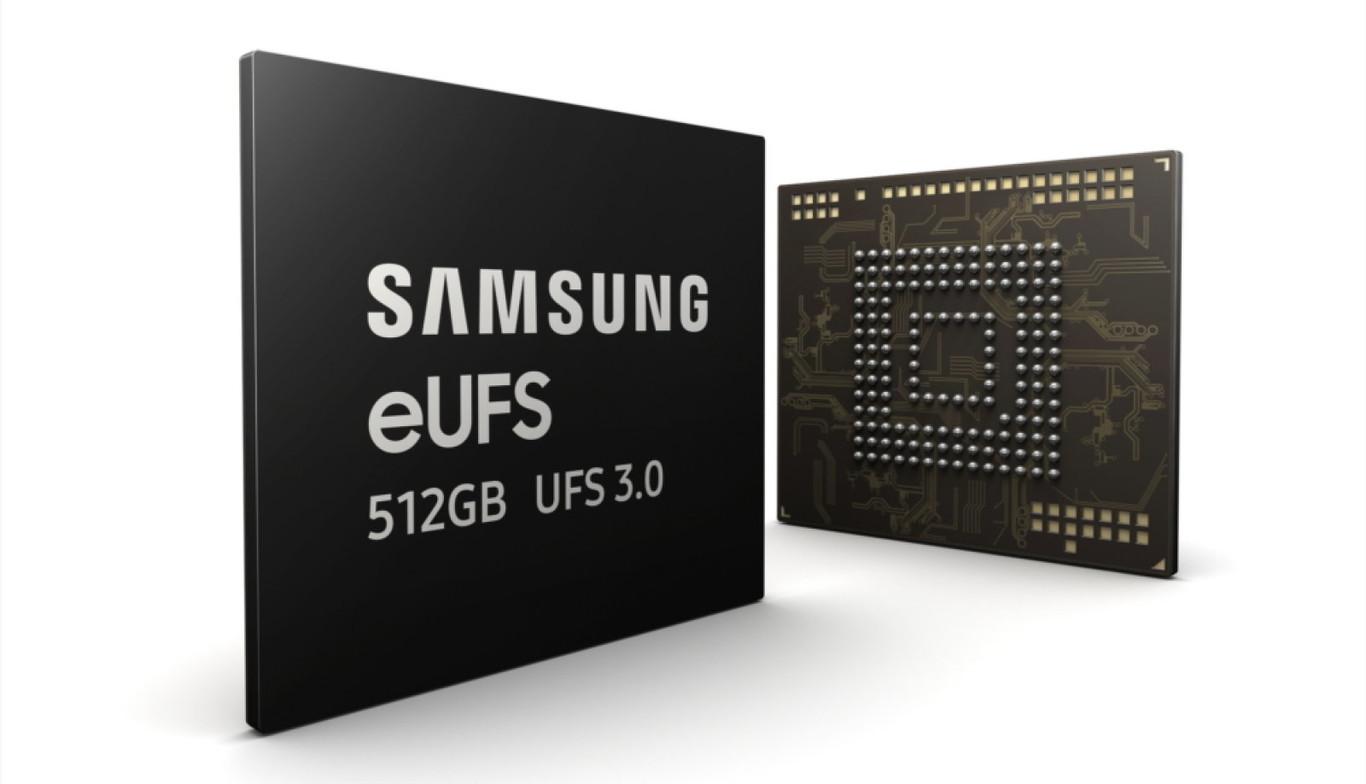 Samsung ya fabrica las memorias eUFS 3.0 de 512GB que estrenará el Samsung Galaxy Fold