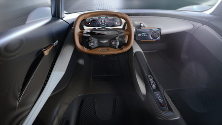 Aston Martin AM-RB 003 interior