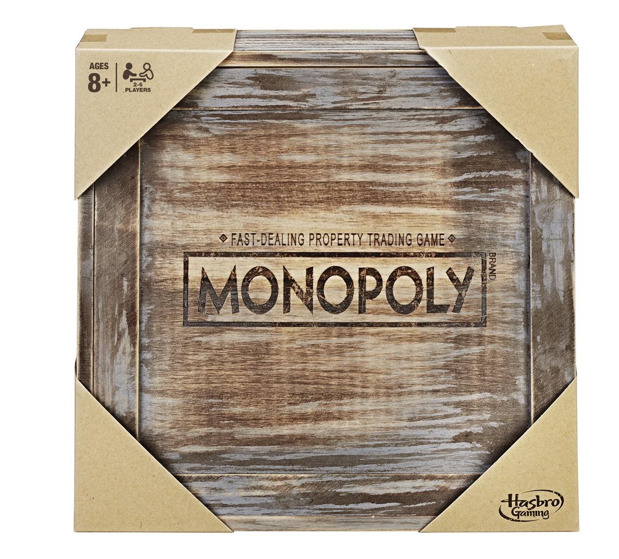 HASBRO Monopoly Rustic
