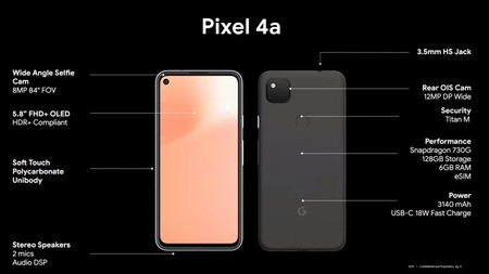 Google Pixel 4a Oficial Caracteristicas Principales