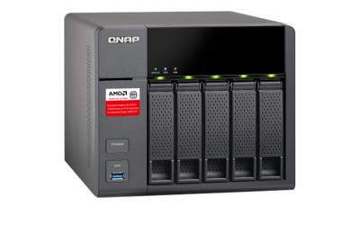 QNAP elige AMD para NAS TS-563 de bajo costo, soporta conectividad de 10GbE