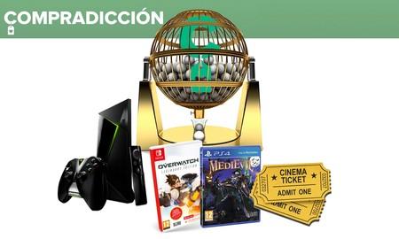 Sorteos de la semana: Nvidia Shield TV, Overwatch para Nintendo Switch, MediEvil para PS4 y entradas para el estreno de Mujercitas