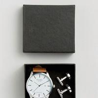 Conjunto Reloj y Gemelos
