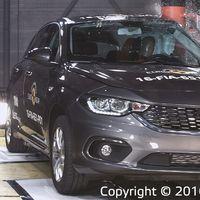 El Fiat Tipo, Dodge Neon en México, sólo consiguió 3 estrellas en el crash test de Euro NCAP