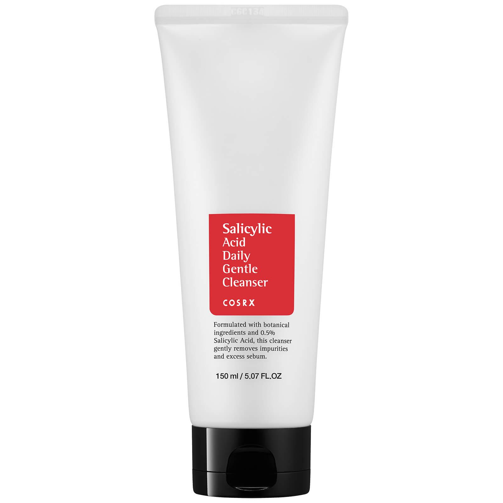 Limpiador facial suave diario con ácido salicílico de COSRX