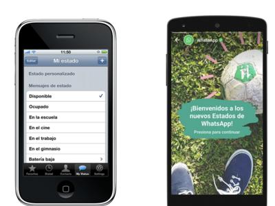 Los estados tradicionales regresarán a WhatsApp, con un nuevo nombre