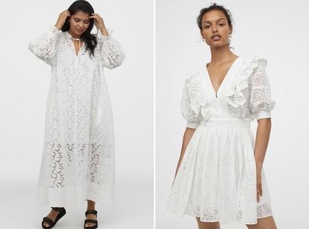 Hm Vestido Blanco Verano 2020 02