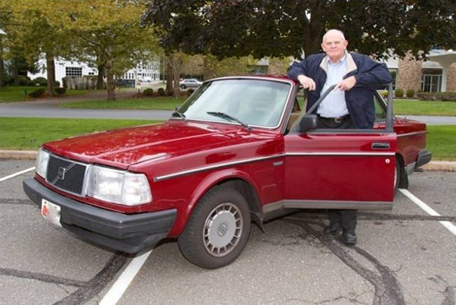 Volvo 240 con un millón de millas