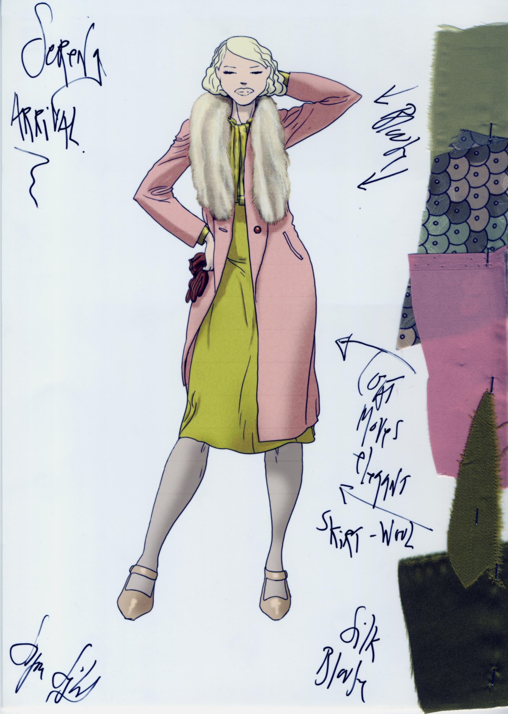 Foto de Jennifer Lawrence nos atrapa con el precioso vestuario de Serena (8/16)