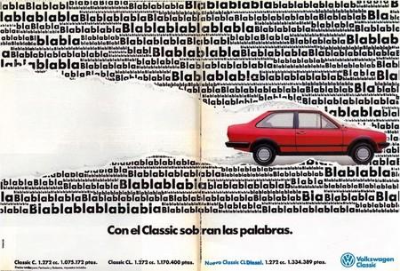 Publicidad de Volkswagen Polo Classic (1987)