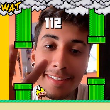 Flappy Bird, el filtro-juego de Instagram donde tienes  que parpadear para ganar