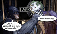 'Batman: Arkham Asylum', o cómo pillar in franganti a los piratas