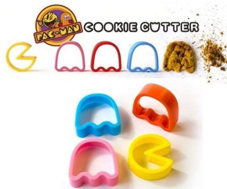 Cortadores de galletas Pac-Man