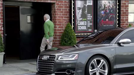 Hasta al creador de The Avengers le gustan los Audi
