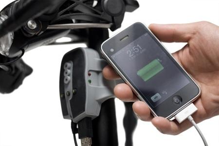 Recargar gadgets a golpe de pedal
