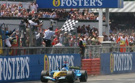 Alonso Gran Bretana F1 2006