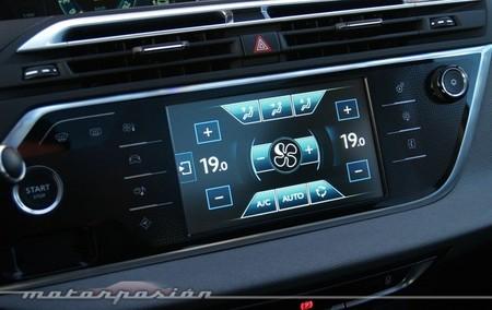Citroën C4 Picasso 2013 pantalla táctil