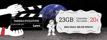 Tarifas Evolution en Lowi: Fibra 50Mb por sólo 29,95 euros/mes