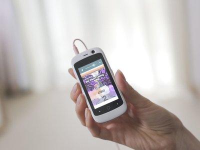 Jelly Pro, el mini-smartphone que trae Android Nougat en una pantalla de 2,45 pulgadas