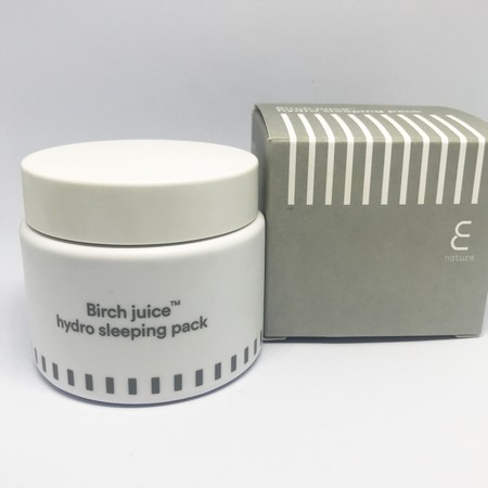 Probamos la mascarilla coreana de noche Birch Juice Hydro Sleeping Pack de E Nature, la nueva marca ecofriendly y vegana