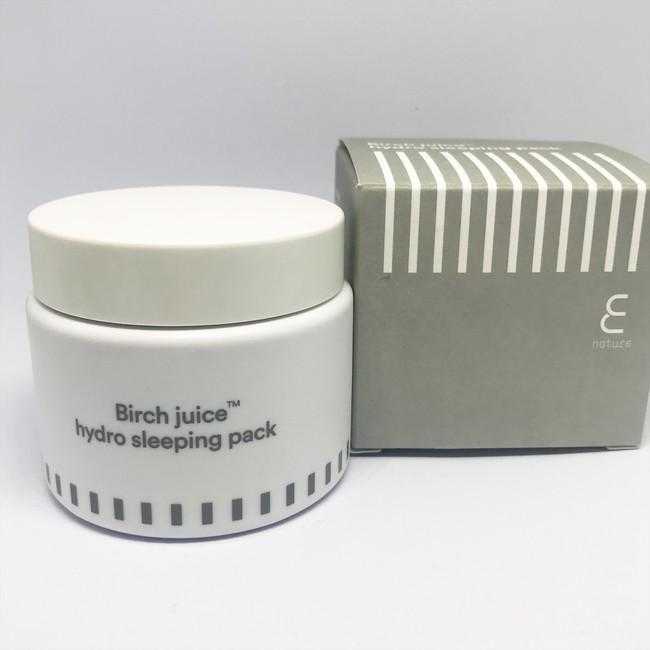 Birch Juice Hydro Sleeping Pack E Nature1