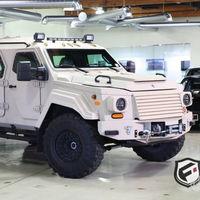 Terradyne Gurkha, un Ford F550 XL 4x4 blindado con el que puedes ser el señor de la guerra (por un precio nada módico)