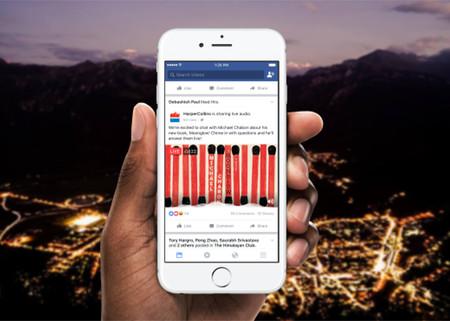 Los podcast llegan a Facebook de la mano de la nueva función Live Audio
